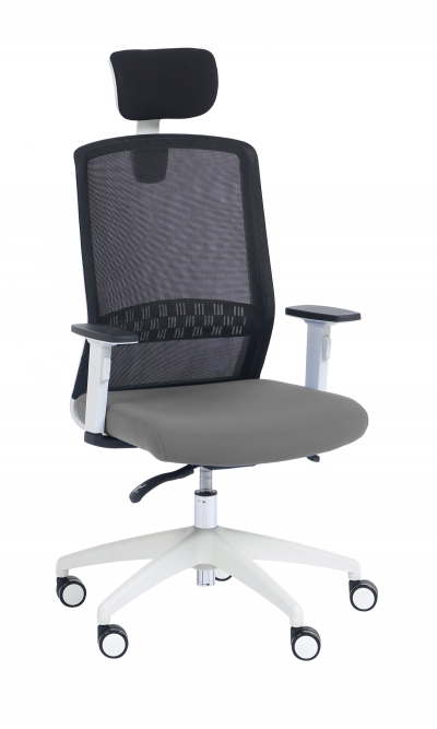 SCOTT BLANC   ACCOUDOIRS 2D   SYNCHRONOUS OFFICE CHAIR IN MESH